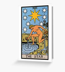 Tarot - The Star Greeting Card