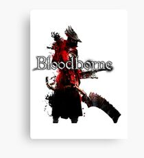Bloodborne - Hunter Canvas Print