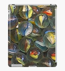Illustrated marbles iPad Case/Skin