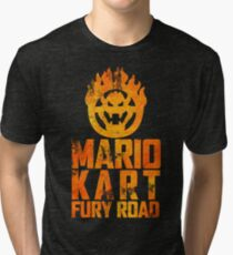 Mario Kart Fury Road Tri-blend T-Shirt