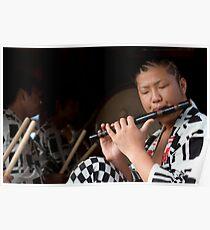 Matsuri Flute Poster