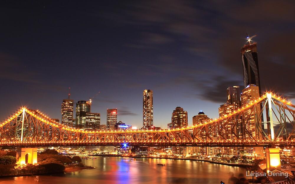The Story Bridge, Brisbane by Larissa Dening