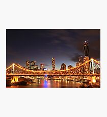 The Story Bridge, Brisbane Photographic Print