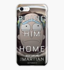 Save Rick! iPhone Case/Skin