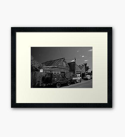 Country Mechanic Framed Print