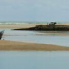 Nambucca Heads Fishing. by Virginia McGowan