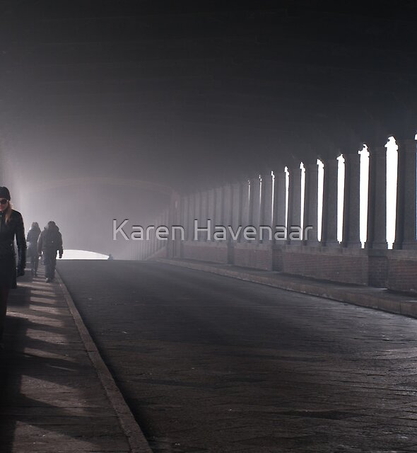On the bridge by Karen Havenaar