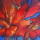 Red Tulip by Susan Scott