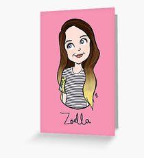 Zoe Greeting Card