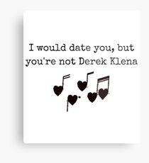 Derek Klena Metal Print