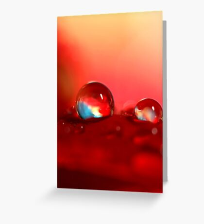Candy Red Greeting Card