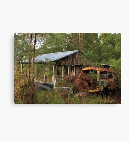 We Won't be Back for the Car Canvas Print