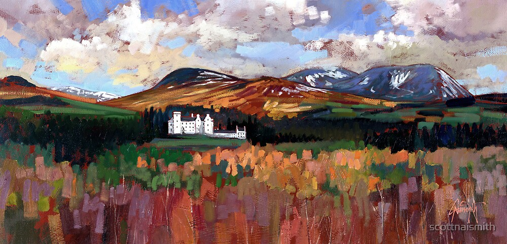 Blair Castle by scottnaismith