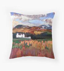 Blair Castle Throw Pillow