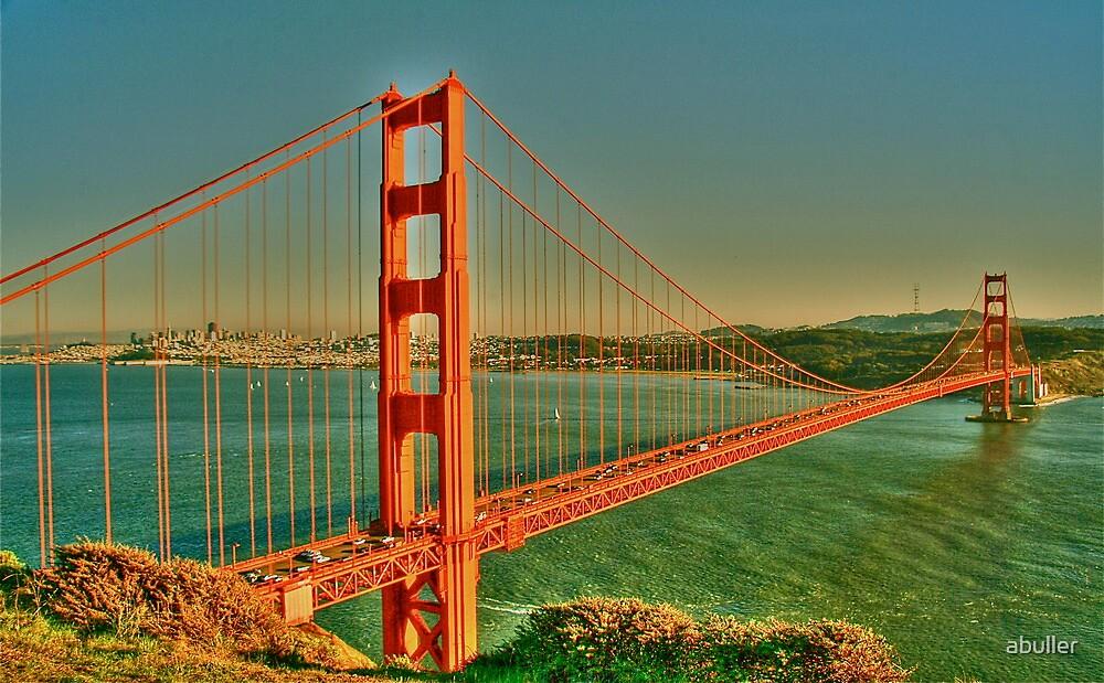 The Golden Gate Bridge  by abuller