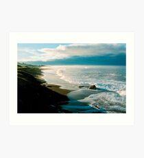 Moonstone Beach, Cambria Art Print
