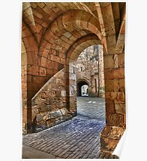 Alnwick Castle Entry Poster