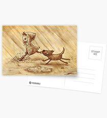 Rain Postcards