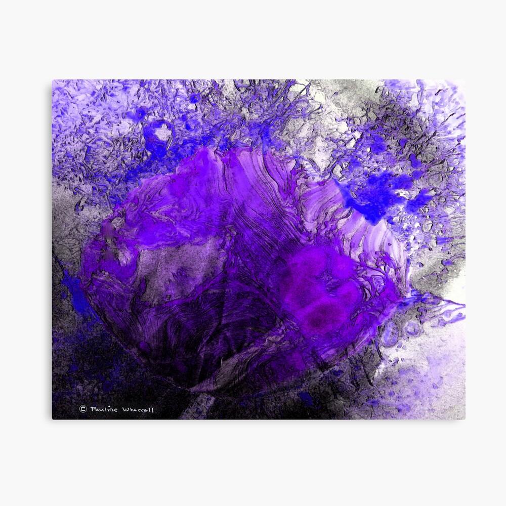 Ice beauty Canvas Print