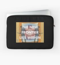 The New Frontier Lies Within Laptop Sleeve
