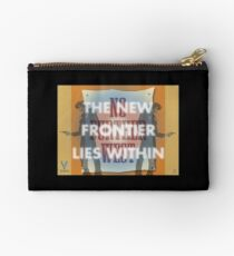 The New Frontier Lies Within Studio Pouch