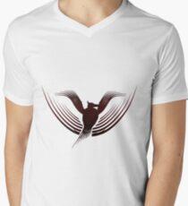 Stylised Phoenix Men's V-Neck T-Shirt