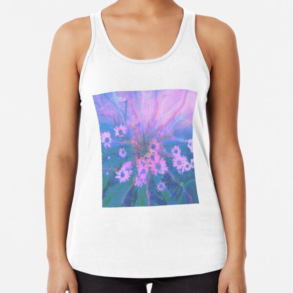 Summer morning Racerback Tank Top