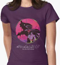 EVA 01 - Evangelion T-shirt / Poster / Phone case / Mug Women's Fitted T-Shirt
