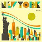 NEW YORK SKYLINE by JazzberryBlue