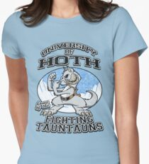 Fighting Tauntauns Women's Fitted T-Shirt