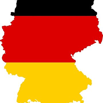 Germany Flag Map by Cyberpanzer