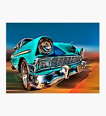 Chevy Frontend Photographic Print