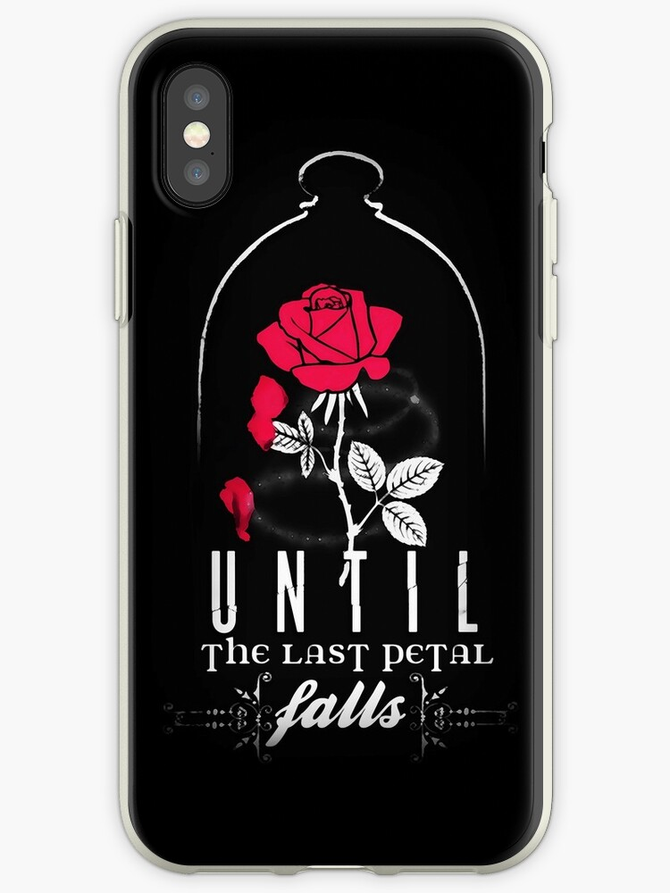 new concept a1acd ee633 'Enchanted Rose.' iPhone Case by lilsarahbelle