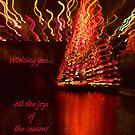 Holiday reflections - card 2 by Celeste Mookherjee