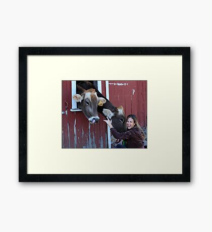 """""""Look What I Can Do !!"""" Framed Print"""