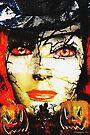 Dark Lady of Halloween by Terri Chandler