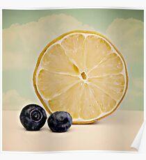 Lemon Blueberry Poster