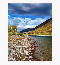 Glacier Park Autumn 3 (The Northfork) Photographic Print
