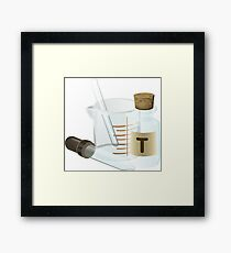 All You Need is Chemistry Framed Print