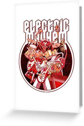 Electric Mayhem by Douglas Holgate