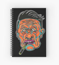 Johnny Vapor Spiral Notebook