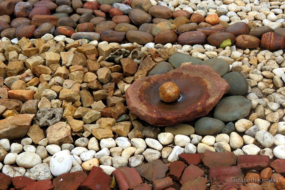 Pass the pebbles by Elizabeth Kendall