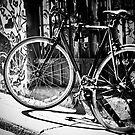 Lit Bike by Ruben D. Mascaro