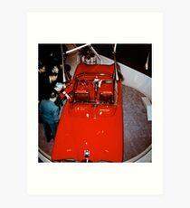 Buick Centurion at General Motors Motorama 1956 top Art Print