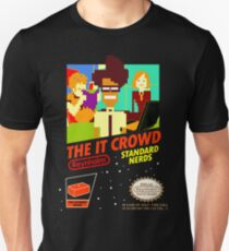 The IT Crowd NES game T-Shirt