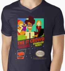 The IT Crowd NES game Men's V-Neck T-Shirt