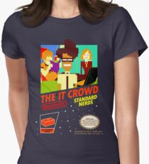 The IT Crowd NES game Women's Fitted T-Shirt