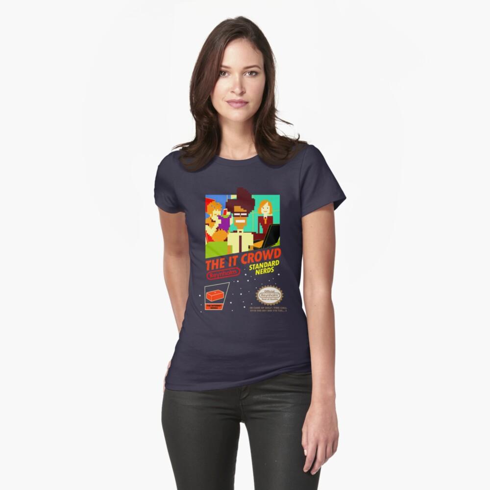 Das IT Crowd NES-Spiel Frauen T-Shirt Vorne