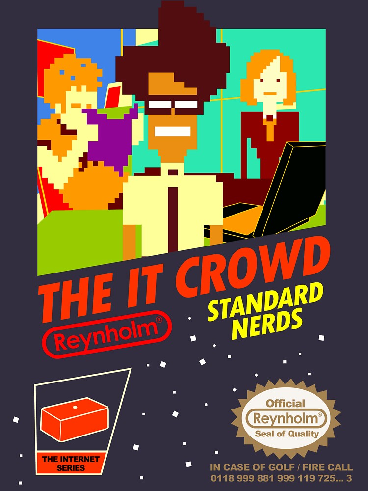 The IT Crowd NES game by TomTrager