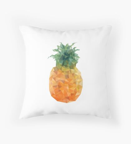 Pineapple Triangles Throw Pillow